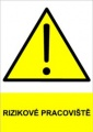 Bezpečnostní tabulky - Nebezpeční výbuchu hořlavých hmot