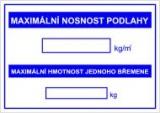 Bezpečnostní tabulky - Hydrant (doplňkový text)