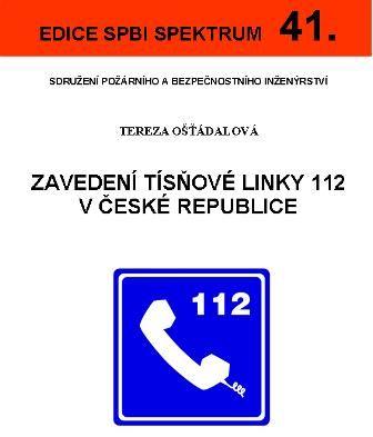 Zavedení tísňové linky 112 v ČR