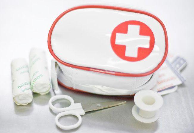 Lékárnička v praktickém pouzdře