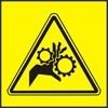 Nebezpečí vtažení prstů ozubenými koly