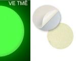 Fotoluminiscenční podlahové značení hliníkové bez šipky ALFM