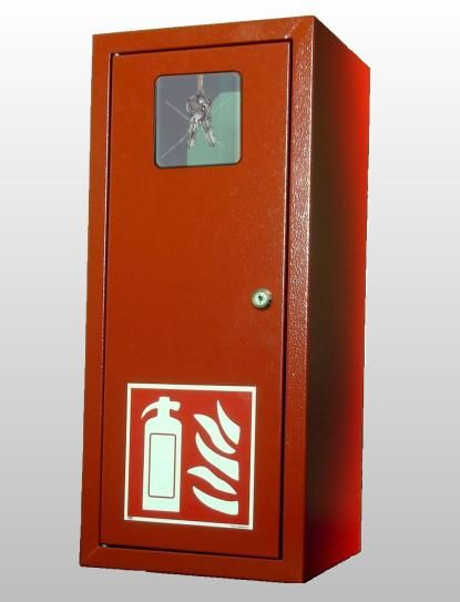 Požární skříň na 6kg hasicí přístroj