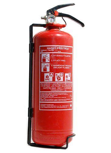 Práškový hasicí přístroj - 2kg (8A/55B/C)