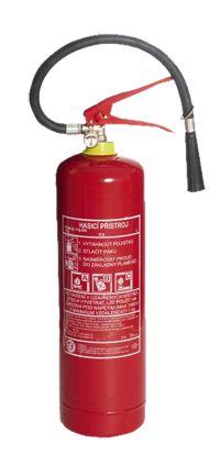 Práškový hasicí přístroj - 6kg (34A/183B/C)