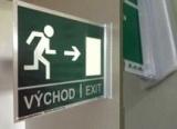 Bezpečnostní prostorové značení a značení dveří